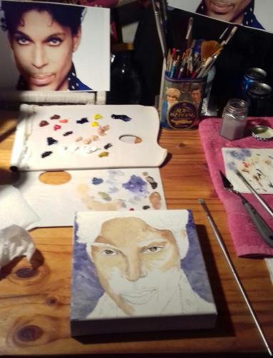 prince oil paint