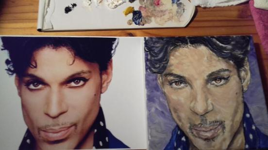 Prince nearly done